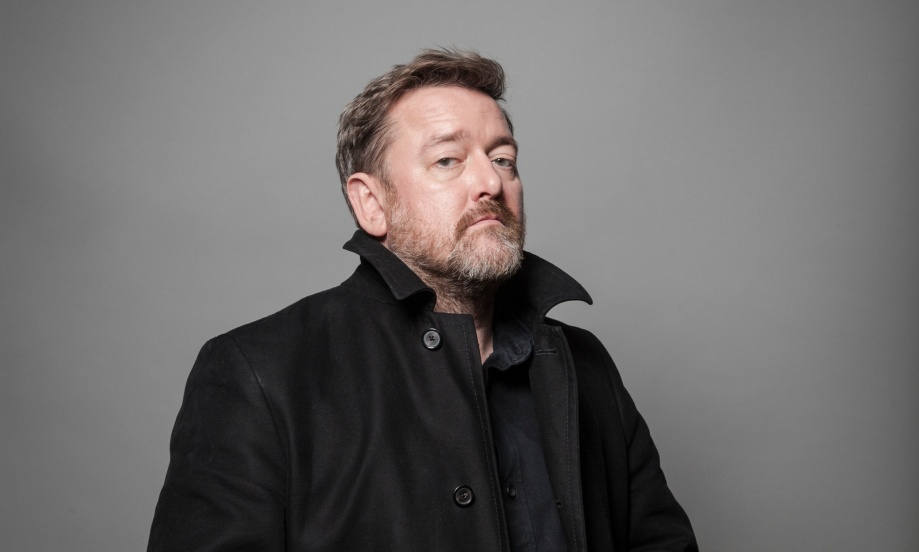 Singer, Songwriter and guitarist with the band Elbow, Guy Garvey shot at the Albert Hall in Manchester for the Guardian Weekend Magazine.